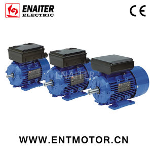 Al Housing Asynchronous single phase Electrical Motor pictures & photos
