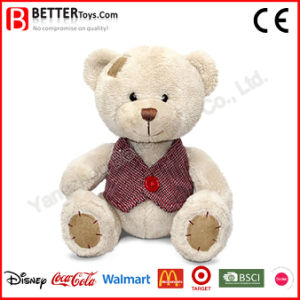 Stuffed Animal Plush Patched Bear Soft Toy for Baby Kids pictures & photos