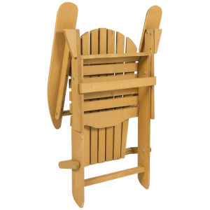 Outdoor Adirondack Wood Chair Foldable Patio Lawn Deck Garden Furniture pictures & photos