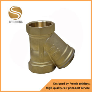 Brass Y-Type Strainer with Brass Coupling pictures & photos