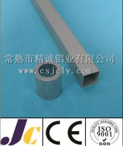 Square Aluminum Tube, Bright Anodized Aluminum Tube Profile (JC-C-90025) pictures & photos