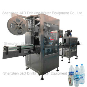 Automatic Plastic Glass Bottled Water Shrink Sleeve Labeling Machine pictures & photos