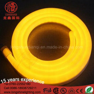 IP65 120LEDs LED Warm White 220V Neon Flexible Lighting Covers Strip for Shop Hotel Decoration pictures & photos