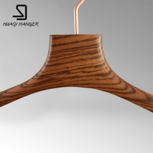 Special Peach Wooden Clothes Hanger for Women/Female pictures & photos
