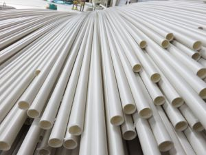 Electric Wires Installation PVC-U Pipe. pictures & photos