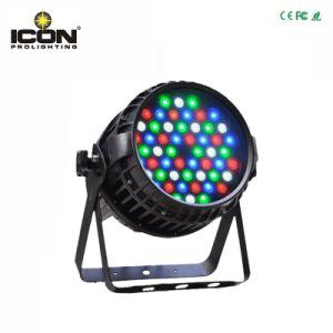 Outdoor 54X3w RGBW Stage Light PAR64 DMX LED PAR pictures & photos