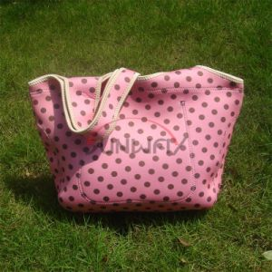 Custom Insulated Neoprene Beach Tote Bag Picnic Cooler Bag (BC0073) pictures & photos