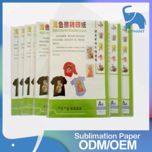 Factory Wholesale Heat Press Transfer Printing Paper for Leather Clothes pictures & photos