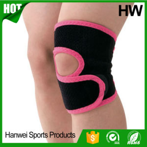 China Supply Nylon Comforable Sports Knee Support (HW-KS035) pictures & photos