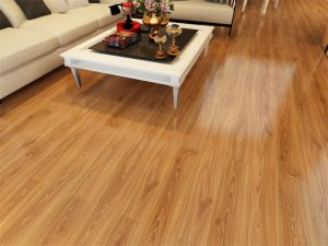 Tongue and Groove Natural Laminate Flooring pictures & photos