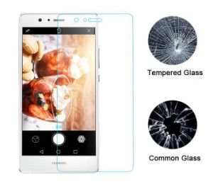 Mobile Phone Accessories High Safety Shatterproof Tempered Glass Screen Guard for Huawei P9 Lite