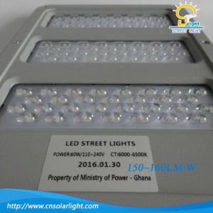 Die-Casting Aluminum High Efficiency 60W-100W LED Street Light pictures & photos