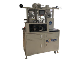 Double-End Flat Cable and Wire Terminal Crimping Machine pictures & photos