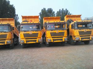 40cbm U Type Tipping Vehicle Tipper Dump Heavy Truck pictures & photos