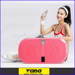 Home Fitness Equipment Dual Motor Vibration Platform Machine with 200W pictures & photos