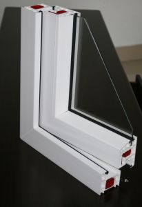 Excellent Low-Temprature Impact Five Chambers Co Extrusion Profiles for Plastic Windows and Doors pictures & photos