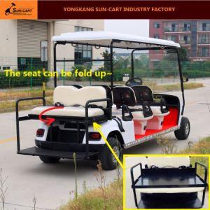 Good Quality 6 Seater Electric Golf Cart for Golf Course pictures & photos