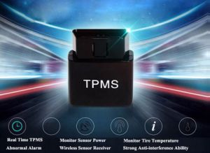 Bluetooth 4.0 APP Display TPMS Tire Pressure Alarm Monitor System OBD Interface Android iPhone pictures & photos