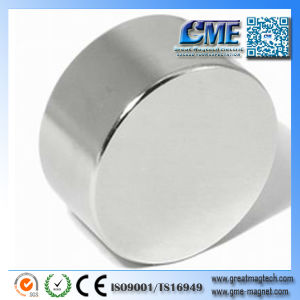 N54 Neodymium Magnets Round Custom Magnets 3 Inch Round Magnets pictures & photos