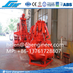 Electric Hydraulic Orange Peel Grab for Garbage Scrap pictures & photos