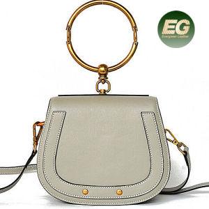 2017 High-End Luxury Women Handbag Real Leather Hand Bag Fashion Designer Shoulder Bags Emg4917 pictures & photos