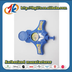 Promotional Plastic Space Gun Disc Shooting Gun Toys Manufacturer in China pictures & photos