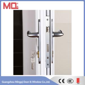 Aluminum Casement Door with Blinds pictures & photos