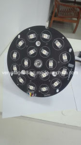 DMX512 18*15W RGBWA UV 6-in-1 LED Zoom PAR Light pictures & photos