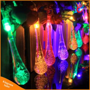 Water Drop 20/30LED Solar String Light for Christmas Festival Decorate pictures & photos