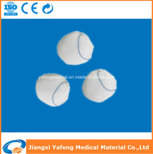 X-ray Thread Disposable Gauze Ball Dressing pictures & photos