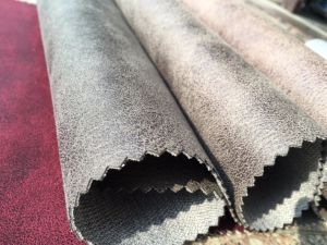 100%Polyester Sofa Fabric/Easy Cleaning Sofa Fabric pictures & photos