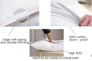1200g 30% Duck Down Feather Hotel Pillow pictures & photos