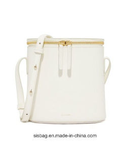 Women Designer Mini Tote Bag PU Bucket Handbag pictures & photos