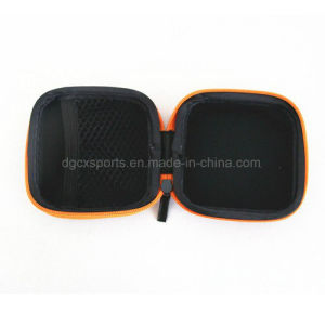 Easy Carrying Lightweight EVA Material Zipper Earphone Box pictures & photos