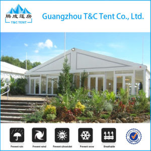 Factory Multi-Side Ends 2 High Peaks Marquee Tent for Wedding Event pictures & photos