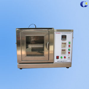 Horizontal Vertical Flame Tester for Lab Test Equipment with UL94 pictures & photos