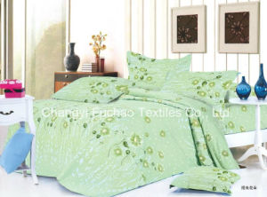 100% Polyester Microfiber Printed Bedding Set Used for Home or Hotel pictures & photos