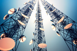 Single Tube Telecommunication Tower Algeria pictures & photos