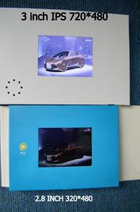 Newest 3′′ips Screen Video Brochure pictures & photos