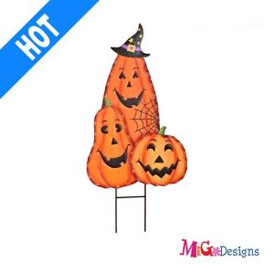 Halloween Amazing Pumpkins Metal Garden Stake pictures & photos