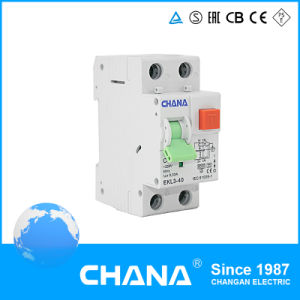 Ekl3-40 RCBO Earth Leakage Circuit Breaker (RCCBwith Overcurrent Protection) pictures & photos