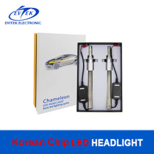 2017 New Super Bright Dual Color Korea Chips 6000k 5500lm LED Headlight H4 H7 9005 9006 pictures & photos