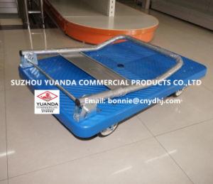 300kgs Plastic Foldable Platform Truck/Handtruck/Handcart/Trolley pictures & photos