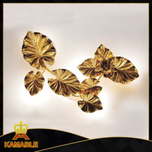New Style Modern Cooper Leaf Wall Lamps (KA8857W-6) pictures & photos