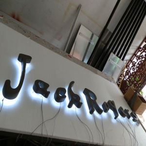 Advertising Backlit Stainless Steel LED Letter Sign and 3D Sign pictures & photos