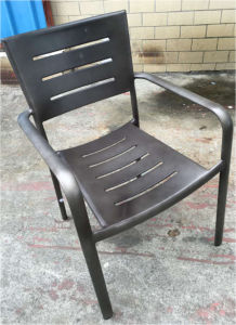 Restaurant Chair Outdoor Alum Chair Industrial Dining Chair pictures & photos