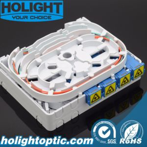 4 Ports Fiber Optic Face Plate pictures & photos
