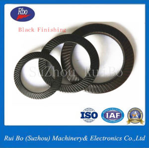 Black Finishing DIN9250 Safety Lock Washer/Ribbed Washer pictures & photos