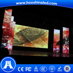 Electronic Promotion Indoor Full Color P4 LED Display Supplier pictures & photos