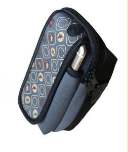 Latest Design Neoprene Mobile Phone Bag Armband Style with Adjustable Band pictures & photos